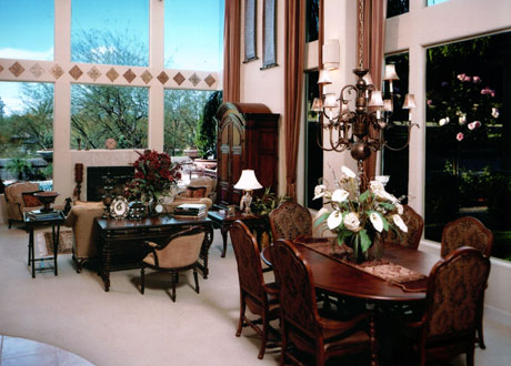 Residential Living & Dining Room